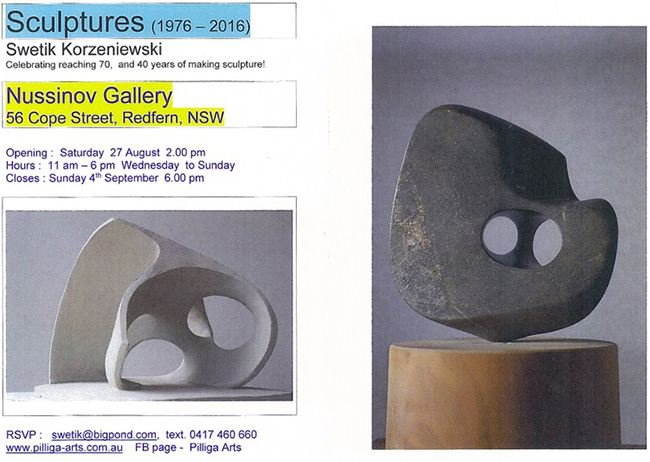 Sculptures Exhibition 2016