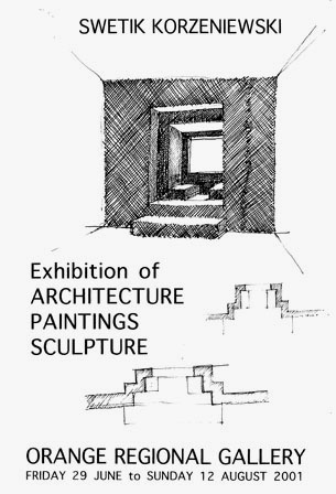Exhibition of architecture, paintings and sculpture 2001