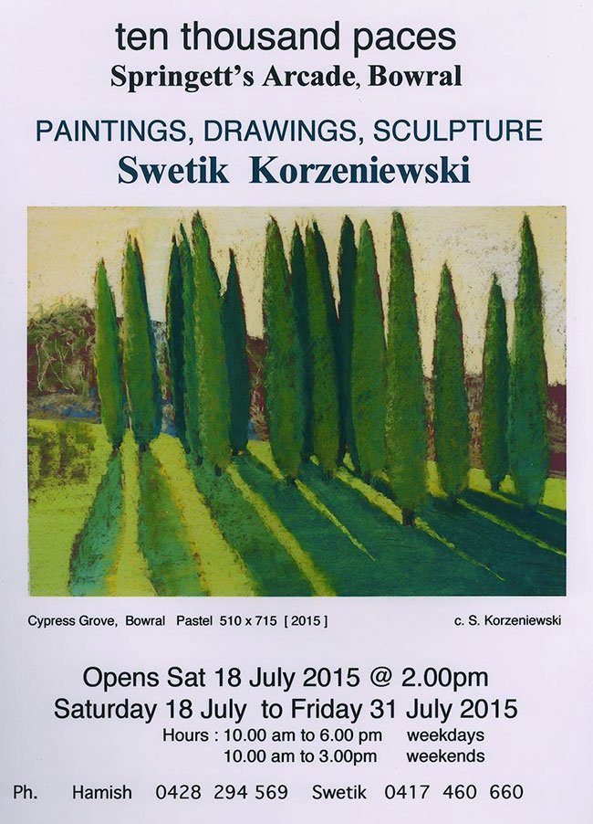 Paintings and Drawings Exhibition 2015