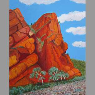 17._The_Red_Cliff_-_Flinders_Ranges